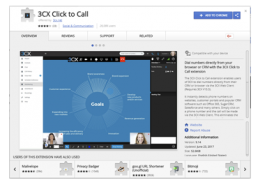 3CX Click to Call Chrome Extension